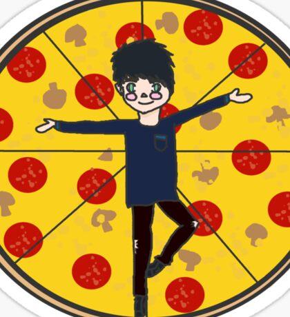 Pizza Michael Sticker