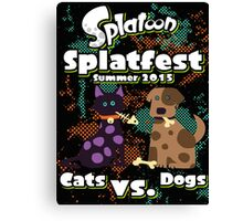 Splatfest 2015 v.1 Canvas Print