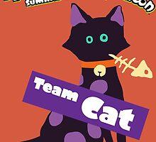 Splatfest Team Cat v.1 by KumoriDragon