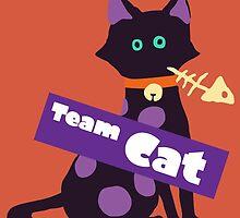 Splatfest Team Cat v.2 by KumoriDragon
