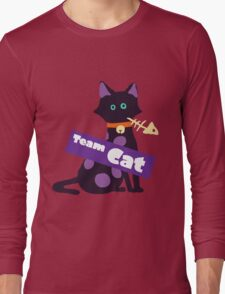 Splatfest Team Cat v.2 Long Sleeve T-Shirt