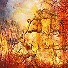 Ganesh River Dream by Iva Penner