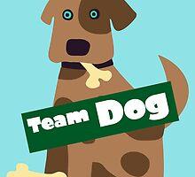 Splatfest Team Dog v.2 by KumoriDragon