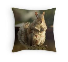 """""""What do you think of THESE then?"""" Throw Pillow"""