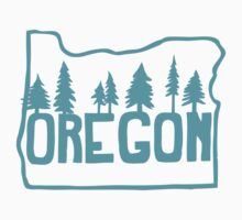 Oregon Evergreens Kids Clothes