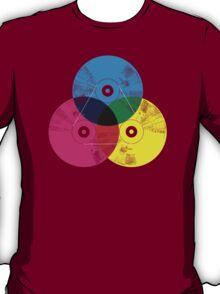 Cmyk music record T-Shirt