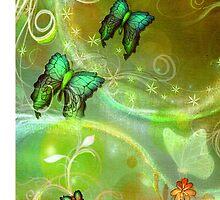 Fairy Dust & Butterflies by Vintage Nest  Designs