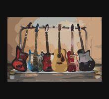 Rack of Guitars T-Shirt