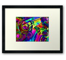 Tropical Flowers. Framed Print