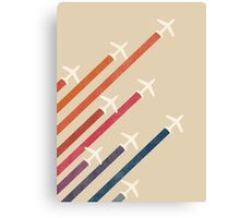 Aerial display Canvas Print