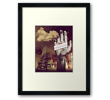 """Holding onto Anger"" Framed Print"