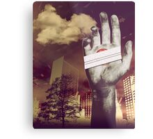 """""""Holding onto Anger"""" Metal Print"""