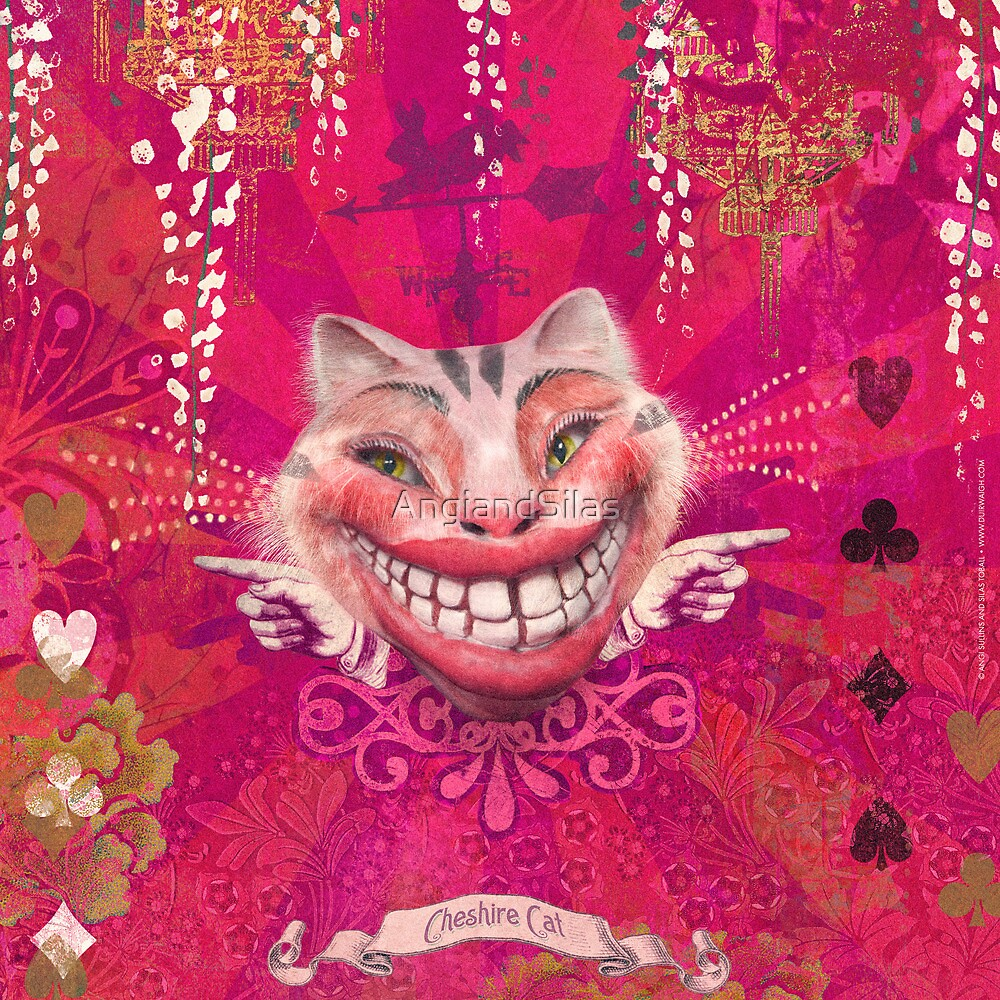 Cheshire Cat by AngiandSilas