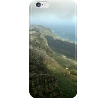 Looking towards Cape Point  from Table Mountain, South Africa  iPhone Case/Skin