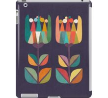 Whimsical Tulip Flower in Bloom iPad Case/Skin