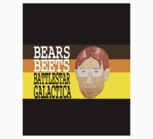 Bears Beets Battlestar Galactica Kids Tee