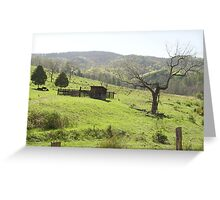 Mountain Barn - Landscapes in West Virginia Greeting Card