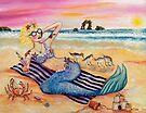 Mermaid on Vacation by stephanie allison