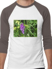 The Orchid and the Grasshopper  Men's Baseball ¾ T-Shirt