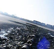 Irish beach. by Claire Sidebotham
