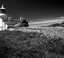 Caldey Island Lighthouse. by StephenRB