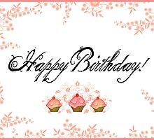 Happy Birthday  by Vintage Nest  Designs