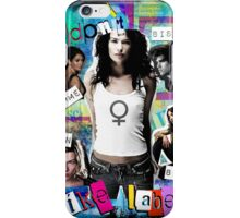 I don't like labels iPhone Case/Skin