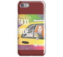 Taxi Ride iPhone Case/Skin