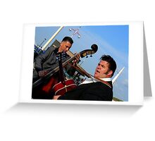entertainer Greeting Card