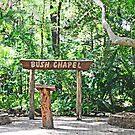 The Bush Chapel by robert murray