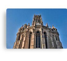 Riverside Church Gothic (HDR) Canvas Print