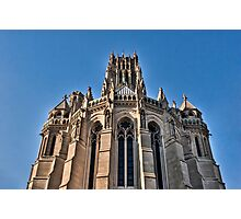 Riverside Church Gothic (HDR) Photographic Print