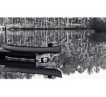 old town canoe Photographic Print