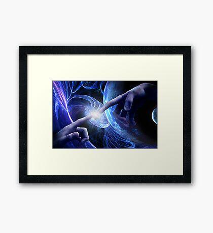 God Particle Framed Print