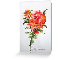 By Any Other Name Greeting Card
