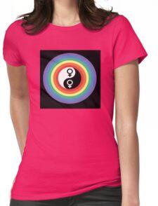 yin yang proud woman Womens Fitted T-Shirt