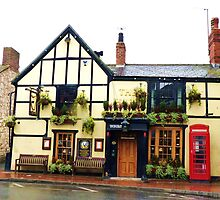 The Harp, Market Street, Abergele, North wales. by artfulvistas