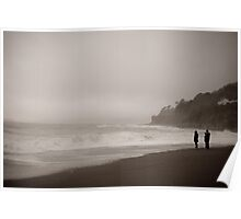 Sea Mists, Seaton, Cornwall Poster