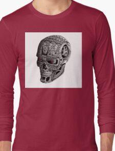 Ornate Terminator Long Sleeve T-Shirt