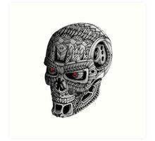 Ornate Terminator Art Print