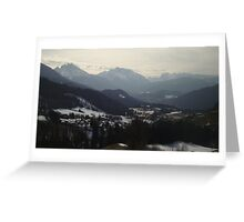 The Mountains of Bavaria Greeting Card