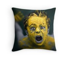 Surfacing Throw Pillow