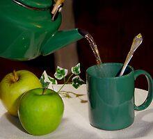 Green Tea Time by Christina Spiegeland