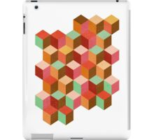Geometrics -cubes cubes and more cubes iPad Case/Skin