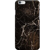 Spider Web Print Grunge Dark Texture iPhone Case/Skin