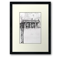 Personal Window Stories Framed Print