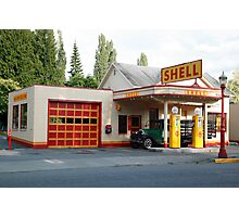 Hailstone Food and Gas store, Issaquah, Washington, USA Photographic Print