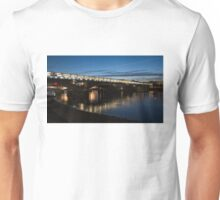 Midnight Lights on the Thames River - Blackfriars Bridge, London, UK Unisex T-Shirt
