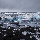 Iceland's Ice Beach by John Dekker