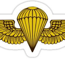 Gold Wings Sticker